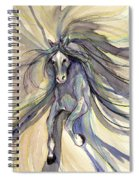 Running With Ginger Spiral Notebook