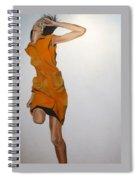 Running Woman Spiral Notebook