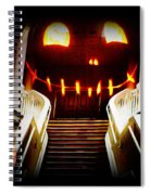 Rupert At The Staircase Spiral Notebook