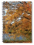 Rural Autumn Country Beauty Spiral Notebook