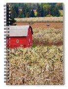 Rural Color Spiral Notebook