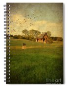 Rural Cottage Spiral Notebook