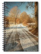 Rural Country Road Spiral Notebook