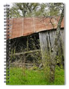 Rural Decay Spiral Notebook