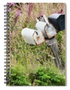 Rural Delivery No 4 Spiral Notebook