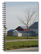 Rural Farm Central Il Spiral Notebook