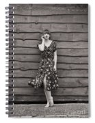 Rural Fashion Spiral Notebook