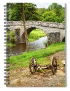 Rural France With Old Stone Arched Bridge Spiral Notebook