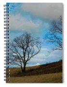 Rural Landscape - Skyline Drive Spiral Notebook