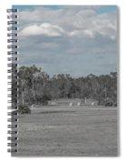 Rural Parking Spiral Notebook