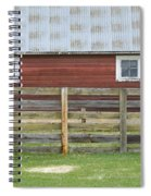 Rural Patterns Spiral Notebook