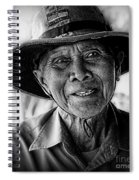 Rural Rice Farmer Spiral Notebook