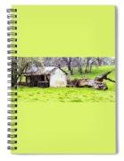 Rural Ruin Spiral Notebook