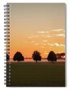 Rural Serenity Spiral Notebook