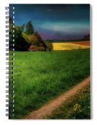 Rural Sunset Spiral Notebook