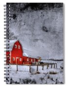 Rural Textures Spiral Notebook