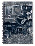 Rural Vehicle Spiral Notebook