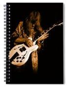 Rush 77 #15 Enhanced In Amber Spiral Notebook