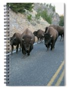 Rush Hour Spiral Notebook