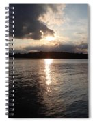 Rush Lake  Spiral Notebook