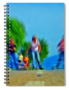 Rush On Skates Spiral Notebook