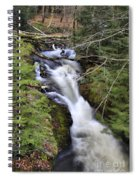 Rushing Montgomery Brook Spiral Notebook