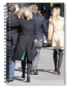 Rushing To The Alter Spiral Notebook