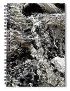 Rushing Waterfall Spiral Notebook