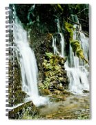 Rushing Waters Spiral Notebook