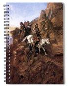 Russell: Danger Ahead Spiral Notebook