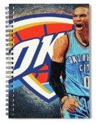 Russell Westbrook Spiral Notebook