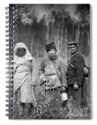 Russia: Convicts, C1885 Spiral Notebook