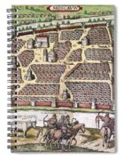 Russia: Moscow, 1591 Spiral Notebook