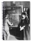 Russia: Students, 1917 Spiral Notebook