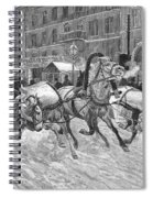Russia: Troika, 1888 Spiral Notebook