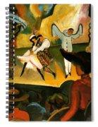 Russian Ballet  Spiral Notebook