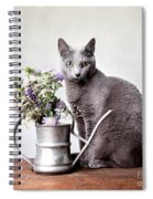 Russian Blue 02 Spiral Notebook