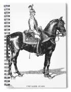 Russian Chevalier Guard Spiral Notebook