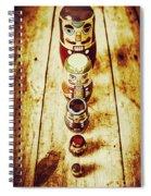 Russian Doll Art Spiral Notebook