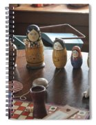 Russian Dolls Spiral Notebook