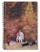 Russian Hunting Spiral Notebook