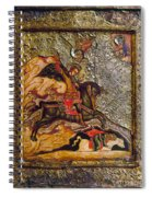 Russian Icon: Demetrius Spiral Notebook