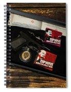 Russian Kgb  Spiral Notebook