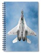 Russian Mig-35 Fulcrum 4 Spiral Notebook