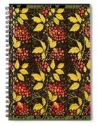 russian pattern Hohloma Spiral Notebook