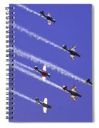 Russian Roolettes And Blue Sky Spiral Notebook
