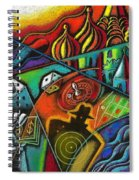 Russian Roulette   Spiral Notebook
