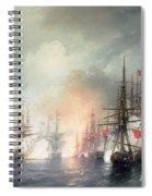 Russian Turkish Sea Battle Of Sinop Spiral Notebook