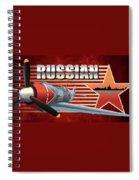 Russian War Bird Spiral Notebook