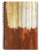 Rust 01 Spiral Notebook